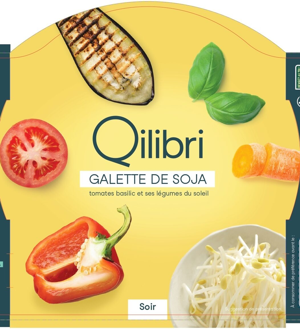 Galettes de soja aux légumes - Produit - fr