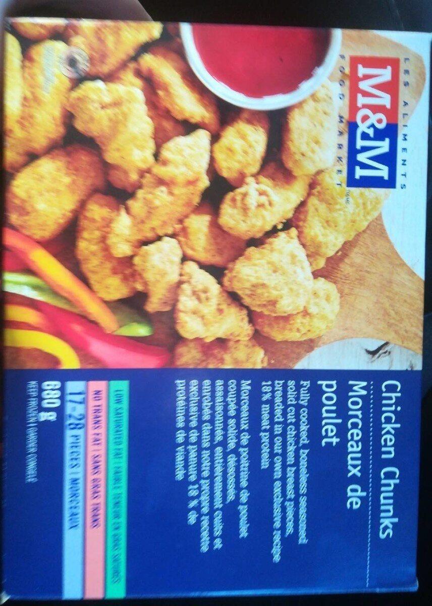Morceaux de poulet - Produit - fr