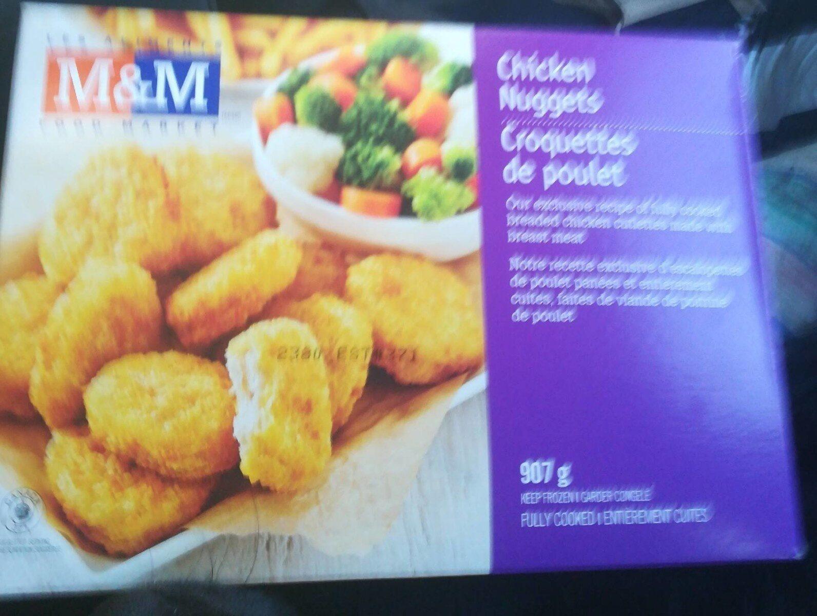 Croquettes de poulet - Product - fr