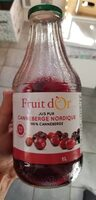 Jus Canneberges 100% Pure Jus - Product - en