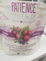 Patience fruit & co - Produit