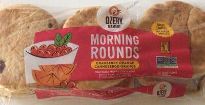 Morning rounds - Canneberge, orange - Product - fr
