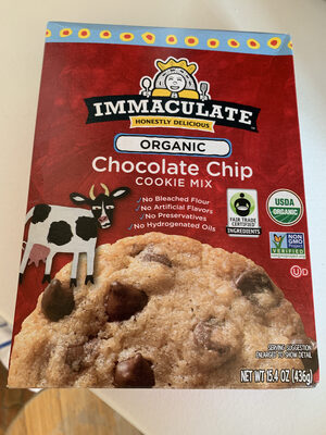 Immaculate Baking Organic Chocolate Chip Cookie Mix - Produit