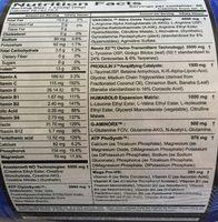 Humavol X2 - Ingrédients