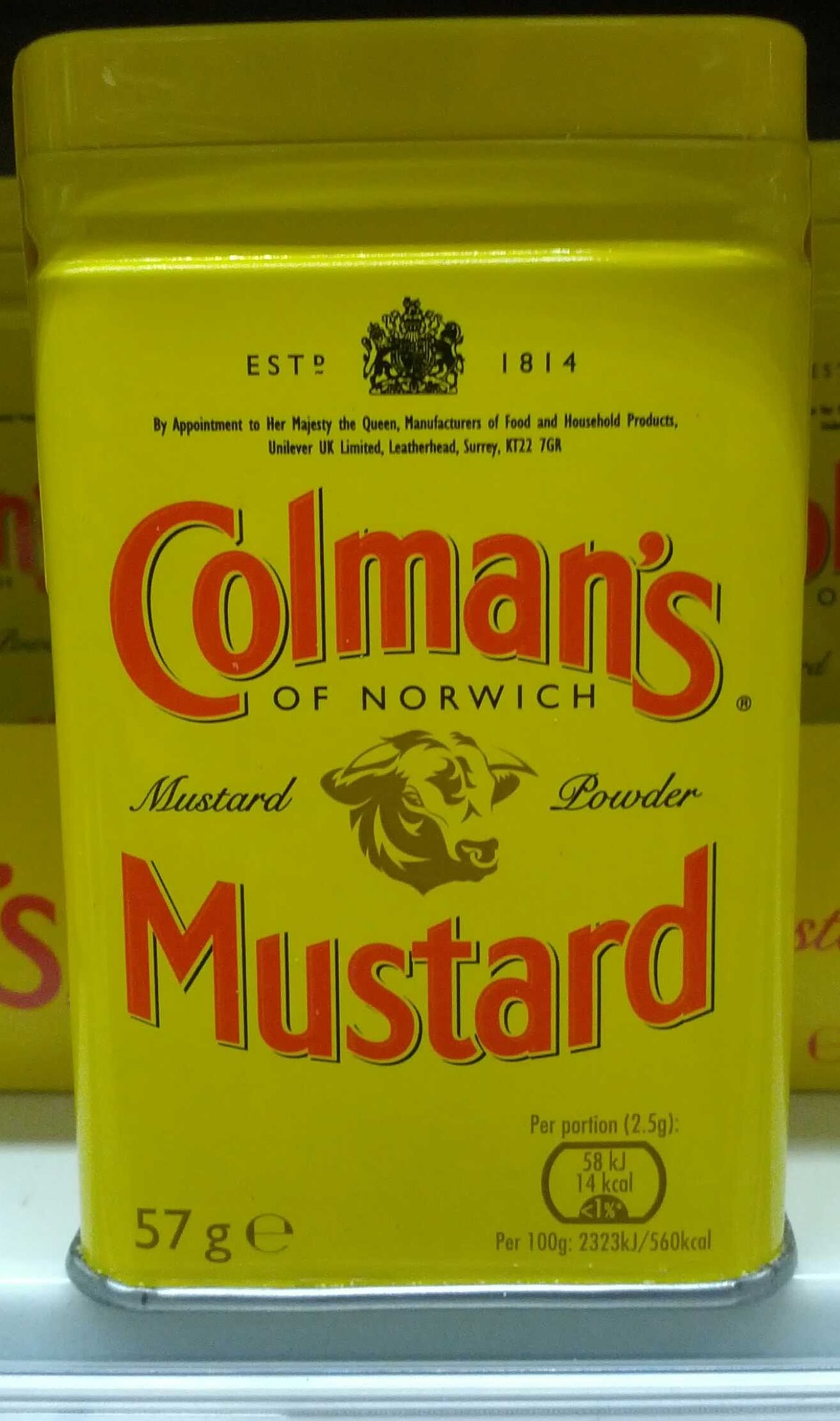 Colman's Mustard of Norwich (powder) - Produit