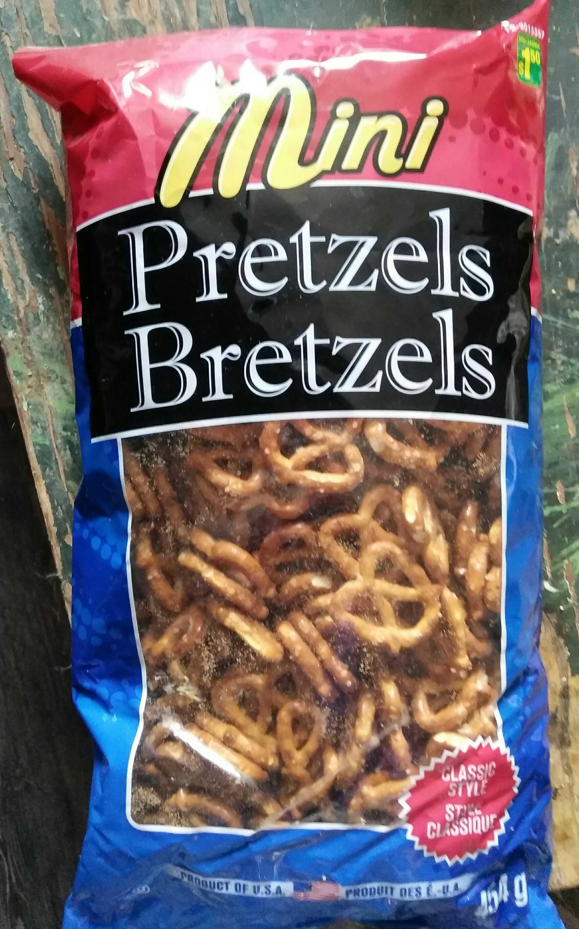 Mini Pretzels - Product - en