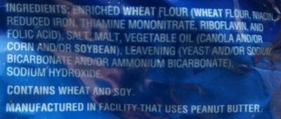 Mini Pretzels - Ingredients - en