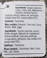 Bonbon de pâques - Ingredients - fr