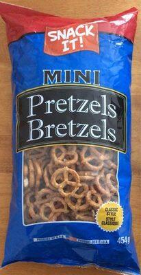 Mini pretzels - Product