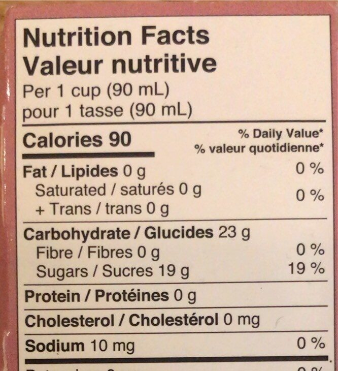 Sensofreddo il sorbetto - Nutrition facts - fr