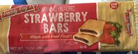 Strawberry bars, strawberry - Product - en