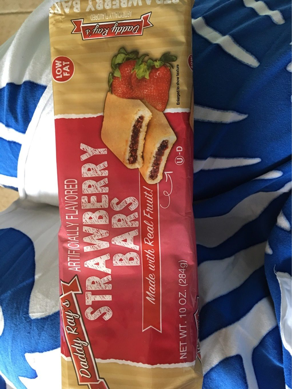 Strawberry Bars - Product