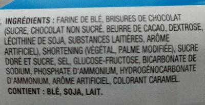 Chips Ahoy originaux - Ingredients