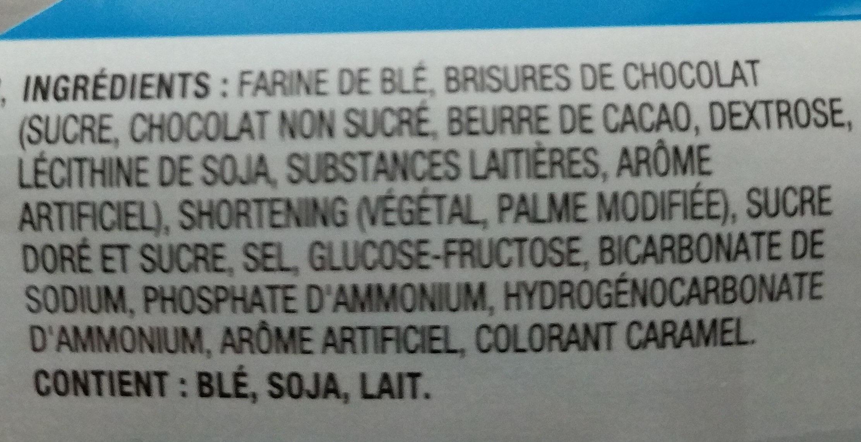 Chips Ahoy originaux - Ingredients - fr