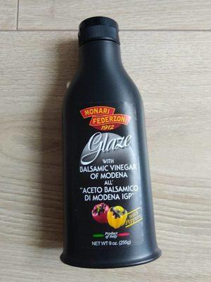 Monari Federzoni Balsamic Glaze With Peppers Dressing (9 Oz) - Product