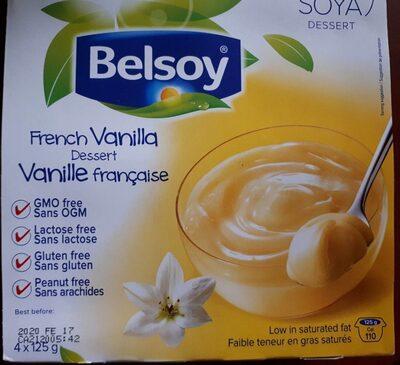 Vanilla soya dessert - Produit - fr