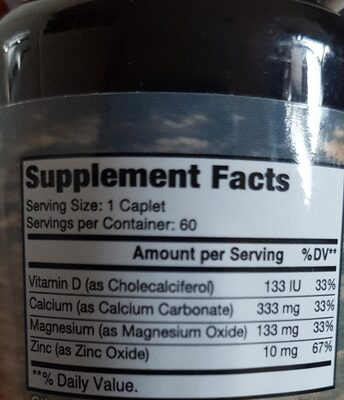 calcium - Ingrediënten - en