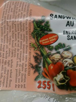 Sandwich thon - Product