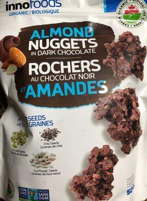 Rochers au chocolat noir et amandes - Produit - fr