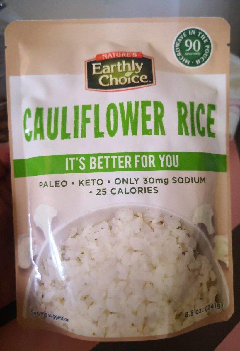 Cauliflower rice - Product - fr