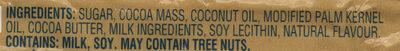 Zero - Ingrédients - en