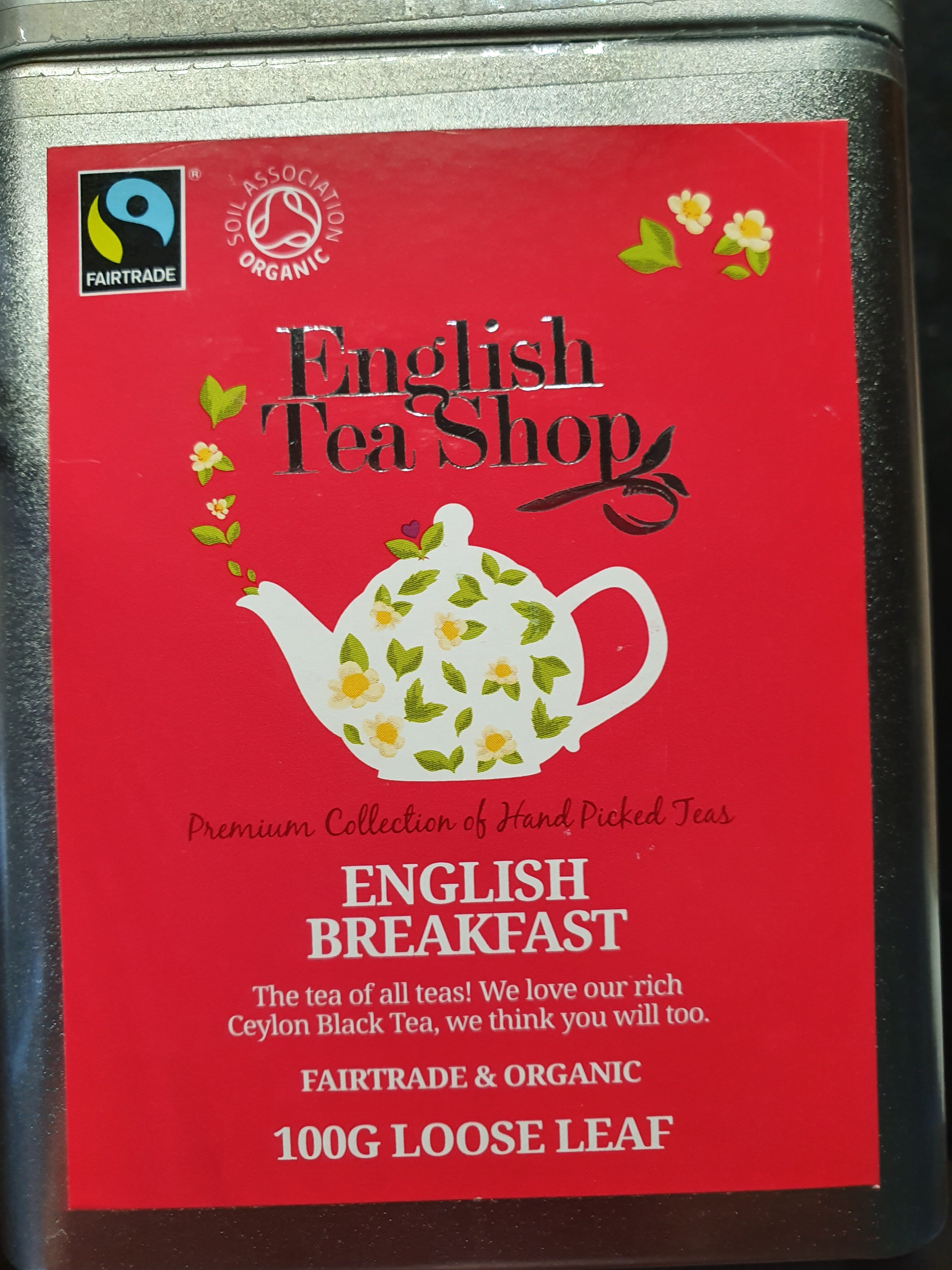 English breakfast tea - Product - en
