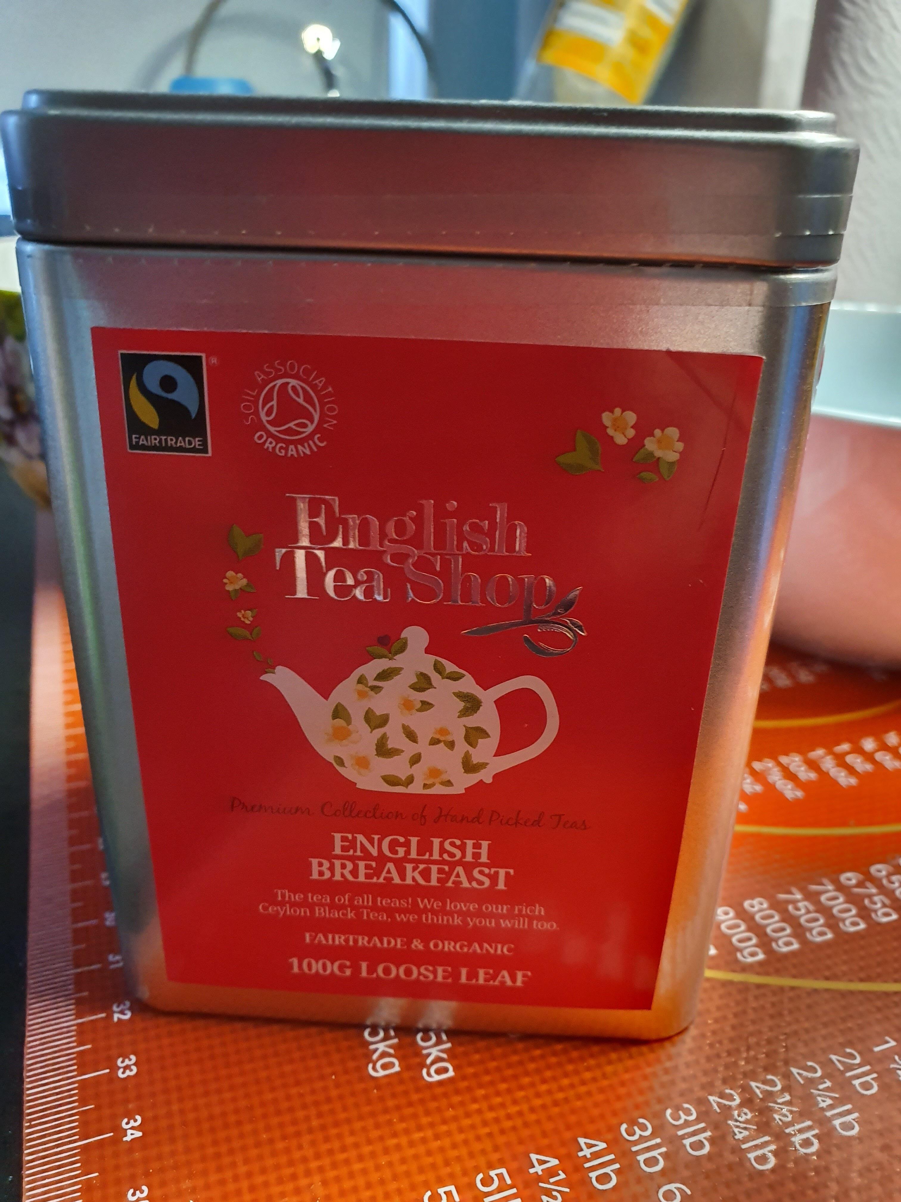 English breakfast tea - Product