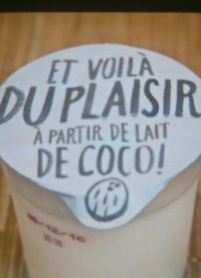 Dessert au lait de noix de coco - Produit