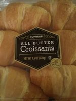 All butter croissants - Product - fr