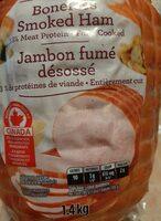 Jambon fumé - Produit - fr