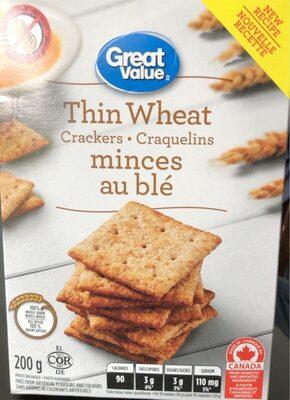 Craquelins minces au ble - Product - fr