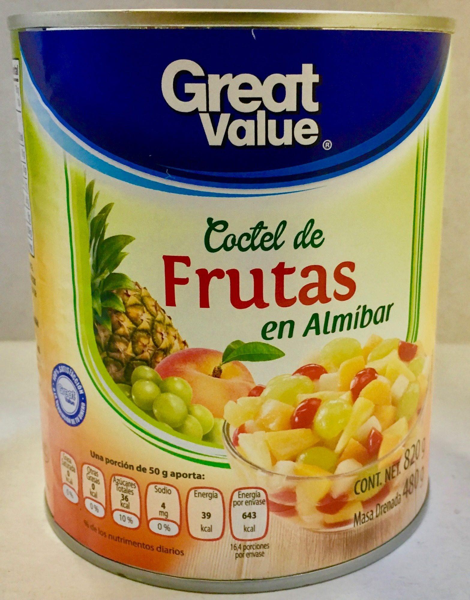 COCTÉL DE FRUTAS EN ALMÍBAR - Producto - es