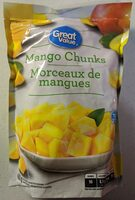 Great Value Mango Chunks - Product - en