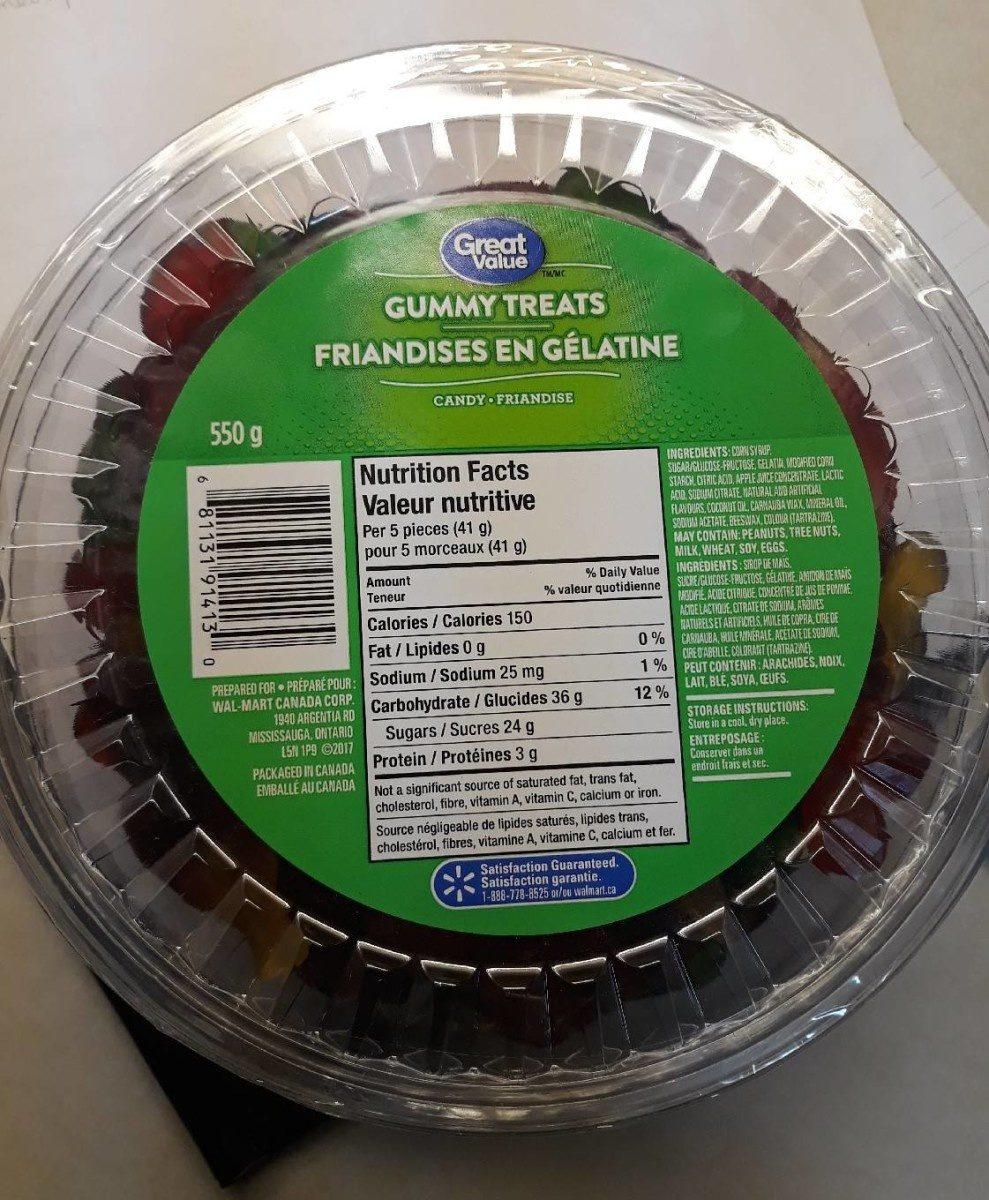 Gummy treats / Friandises en gélatine - Produit