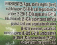 Hartson's blue cheese - Ingredients - es