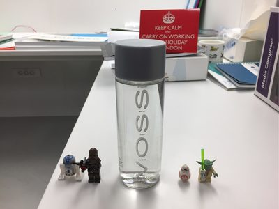 Voss Artesian Water From Norway Still - Nutrition facts