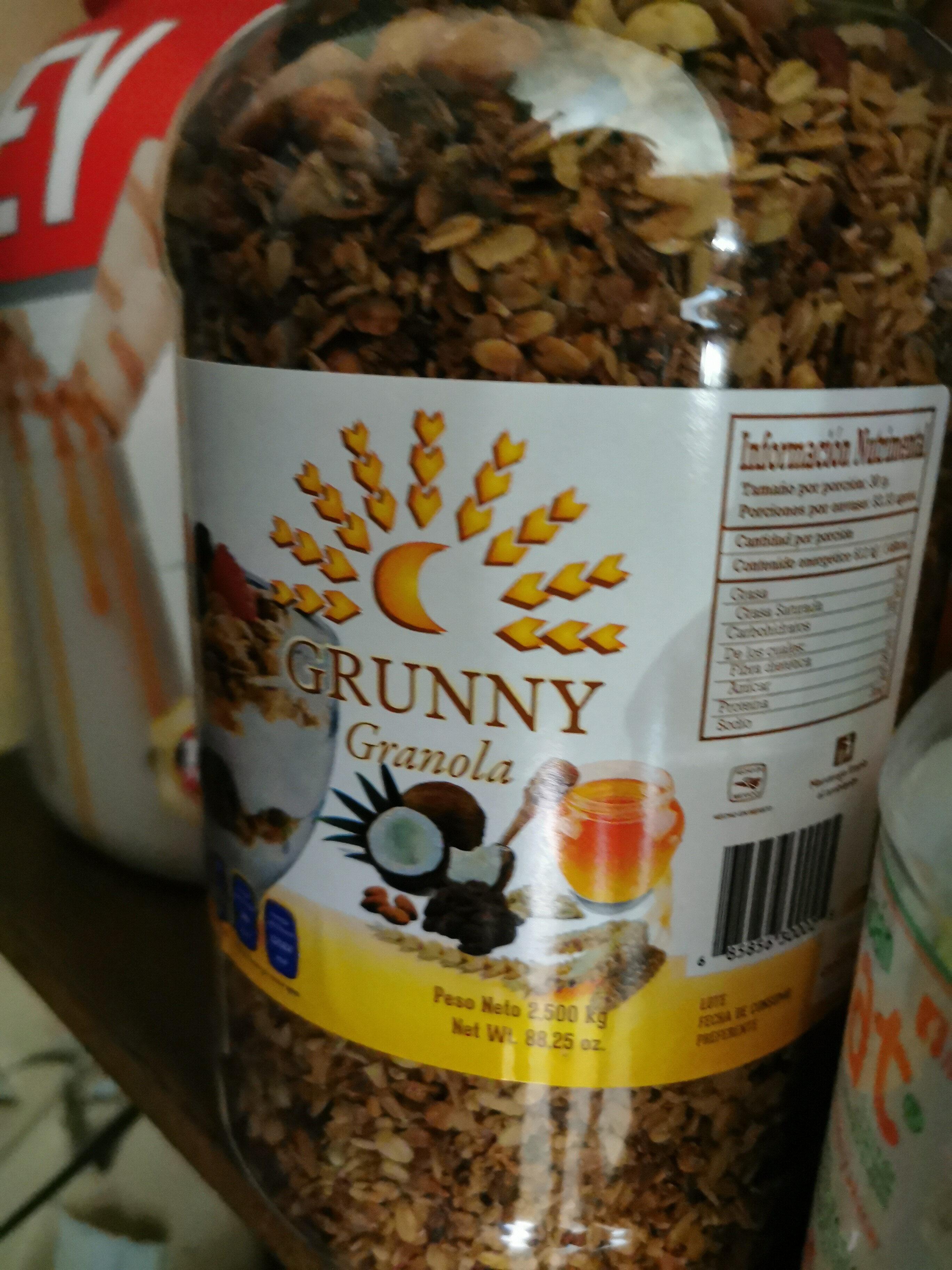 Grunny Granola - Voedingswaarden - es