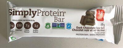 Protein bar Chocolate Sea Salt / barre protéinée - Product - en