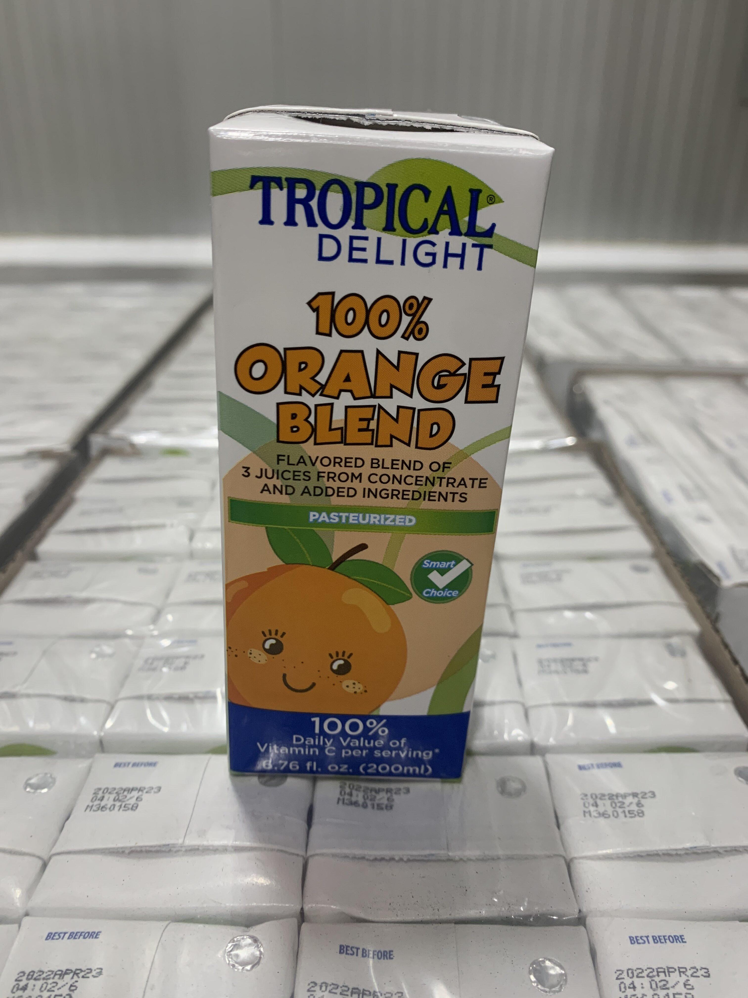 100% Orange Blend Juice Drink - Product - en