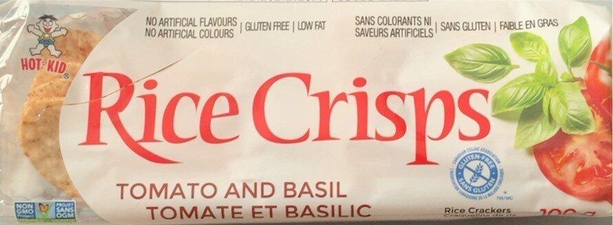 Tomate et basilic - Produit - fr