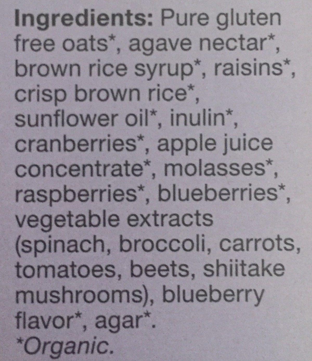 Strawberry crispy light granola, strawberry - Ingredients - en