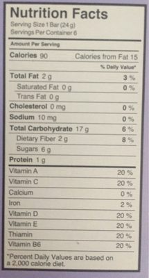 Strawberry crispy light granola, strawberry - Nutrition facts - en