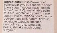 Chocolate Chip Crispy Squares - Ingredients - en