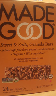 Made Good Sweet & Salty Granola Bars - Product - en