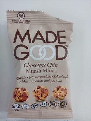 Chocolate Chip Mueslis Minis - Product