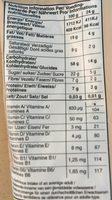 Billes De Cereales Granola Chocolat - Nutrition facts