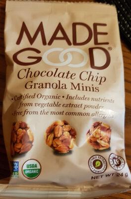 Chocolate Chip Granola Minis - Product - en