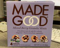 Mixed Berry Granola Minis - Product - en