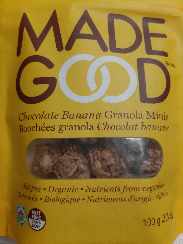 Billes De Cereales Bio Granola Chocolat Banane - Produit