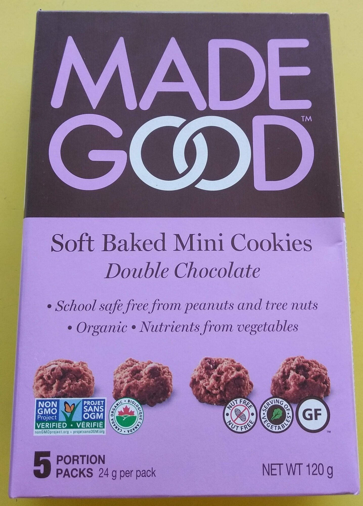 Soft Baked Mini Cookies Double Chocolate - Product